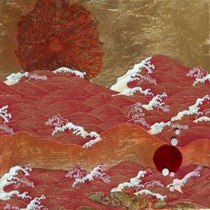 Red-Wave-Goldleaf-Collage